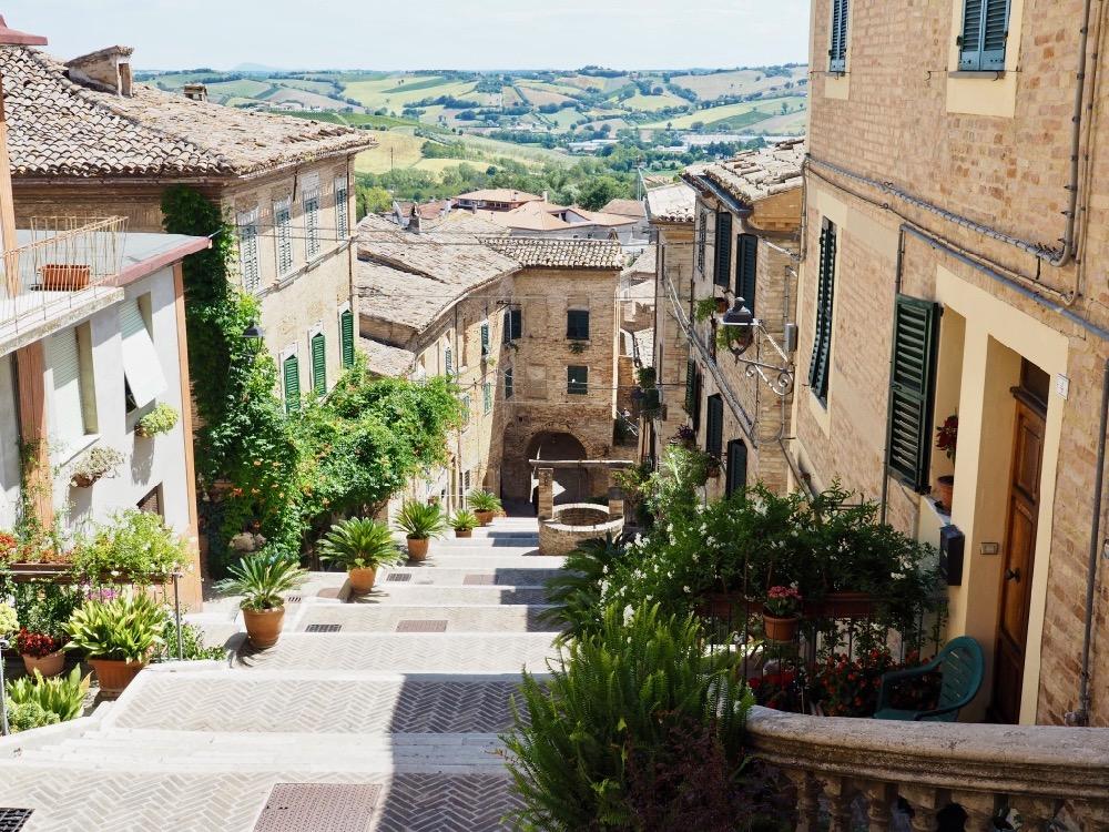 Een Italiaans dorpje in de Marken, Le Marche