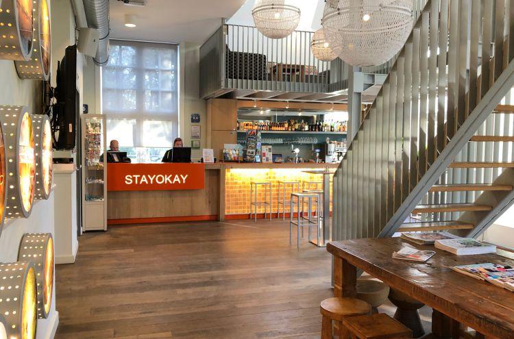 entree en receptie Stayokay Soest