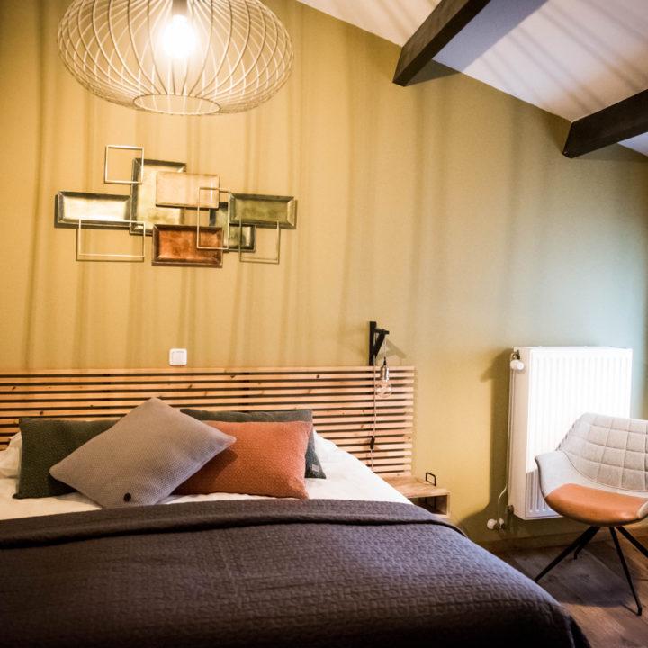Tweepersoons slaapkamer bij B&B Dalauro