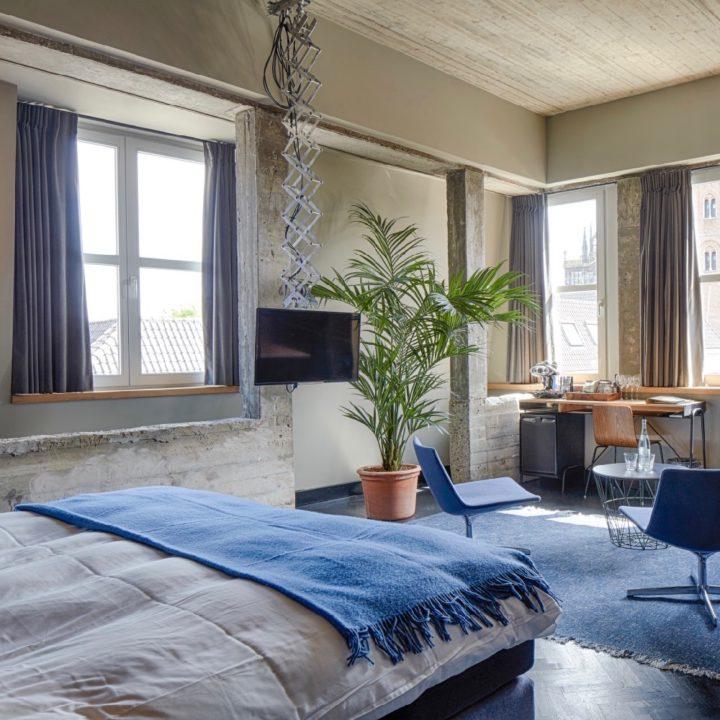 Suite in het boutique hotel in Den Bosch