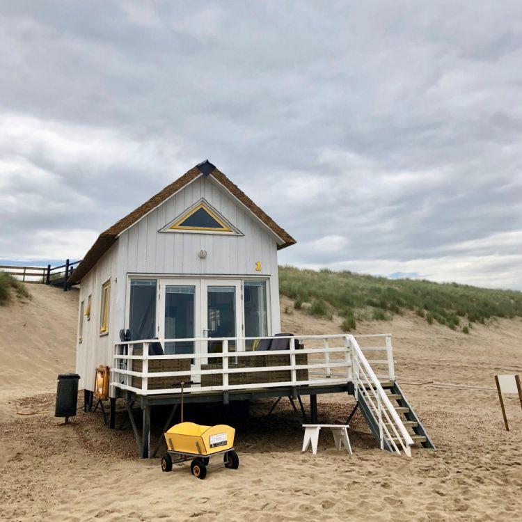 Mooie strandhuisjes bij Domburg