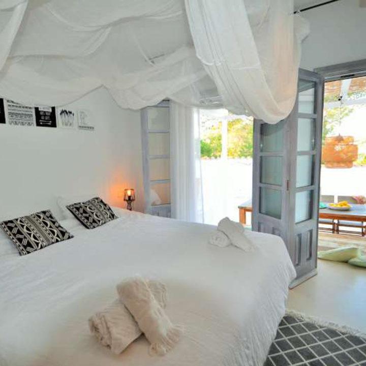 Bijzonder overnachten in vakantiehuis op Ibiza
