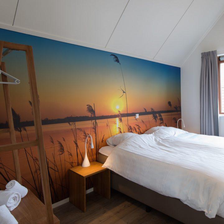 Slaapkamer in vakantiehuis Landal Reeuwijkse Plassen