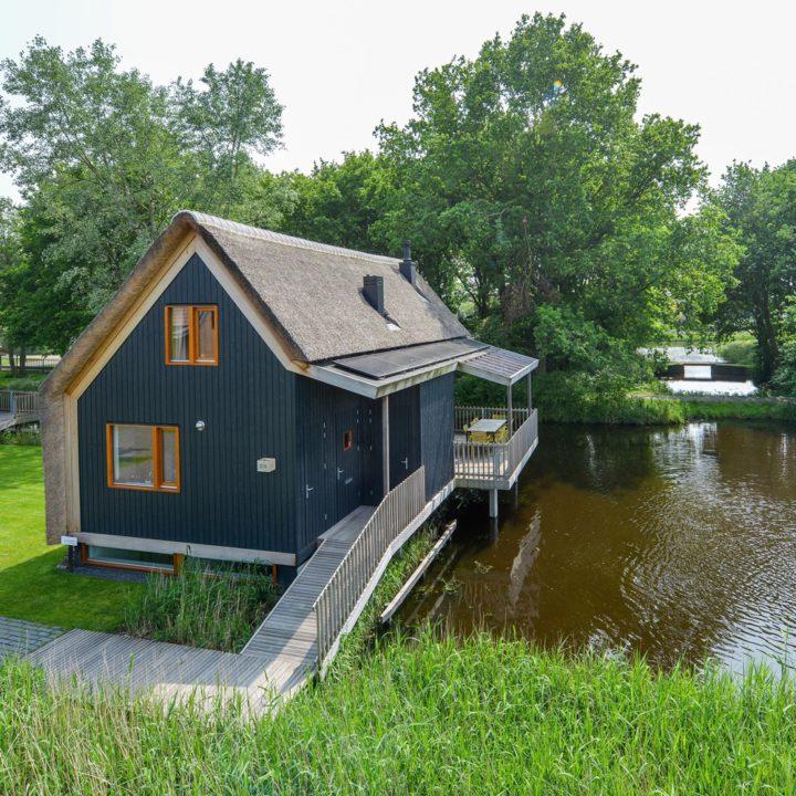 Duurzaam vakantiehuis in Reeuwijk