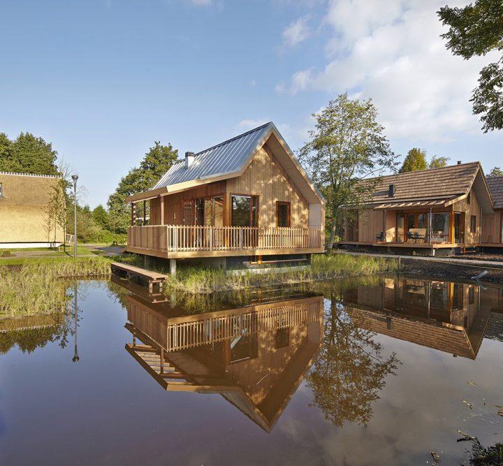Duurzame vakantiehuizen op een park van Landal