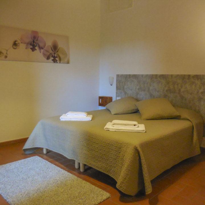 Slaapkamer in Toscane