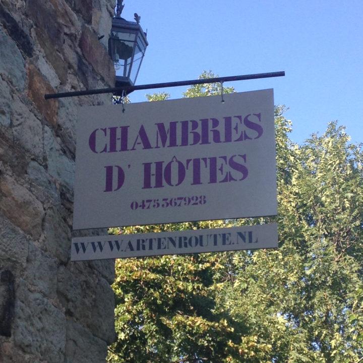 Art en Route heeft 4 gastenkamers.