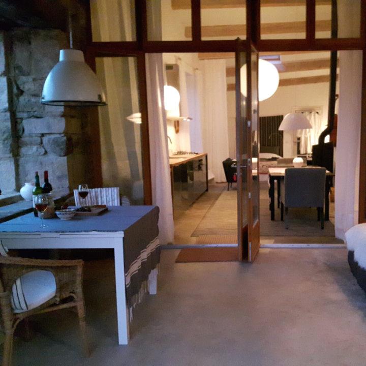 Gastenkamers en appartementen.