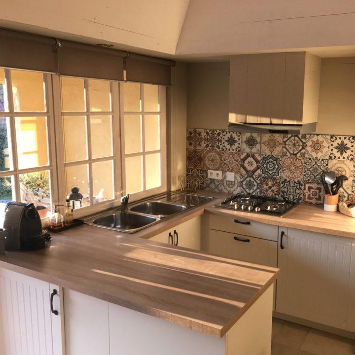 Ruime keuken van alle gemakken voorzien, in het vakantiehuis