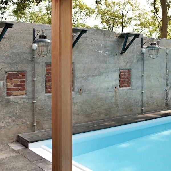 Zwembad in het wellness fort