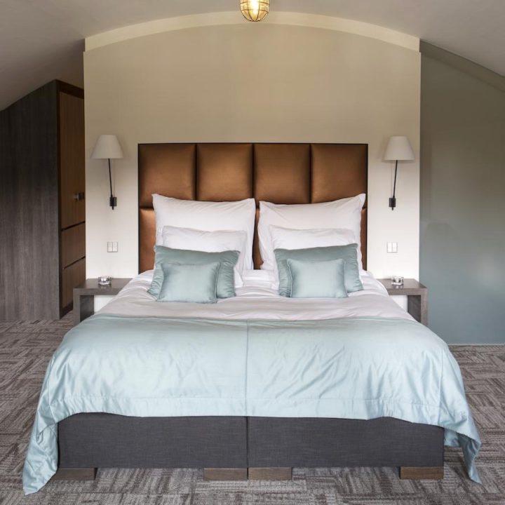 Hotelkamer in een fort