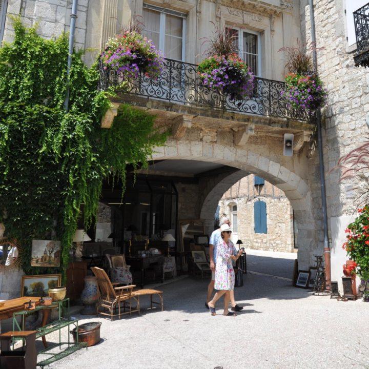 Middeleeuws stadje in Zuid-Frankrijk