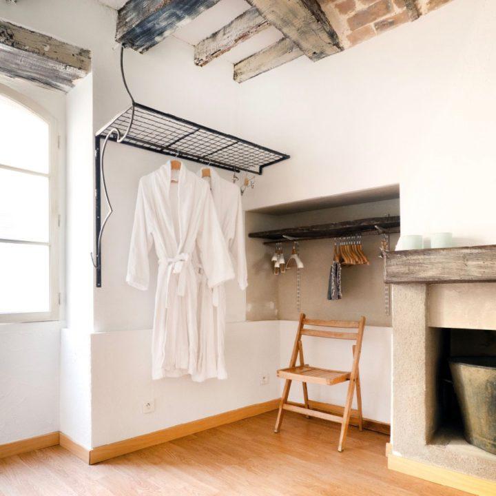 Authentieke details in het vakantieappartement