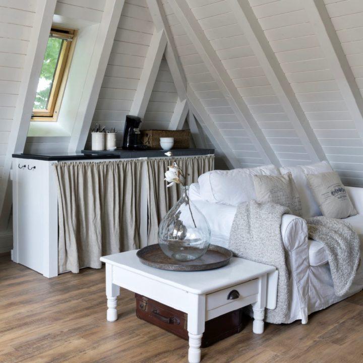 Appartement met zithoek en koffiehoek