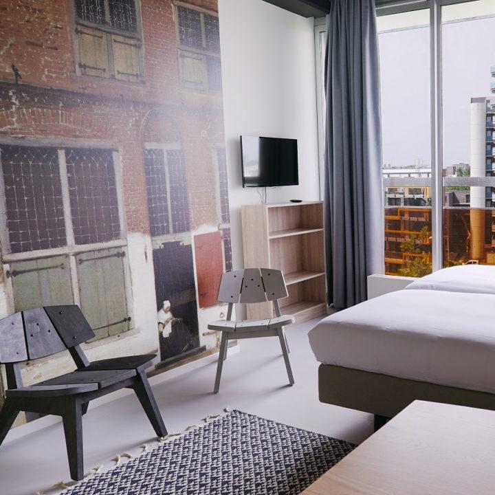 Hotel met diverse types hotelkamers