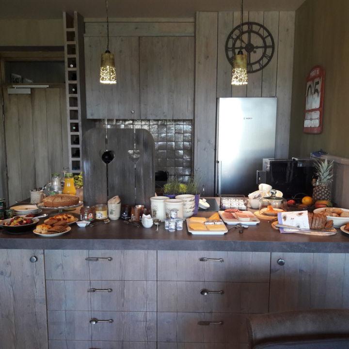 Keuken met allemaal lekkernijen