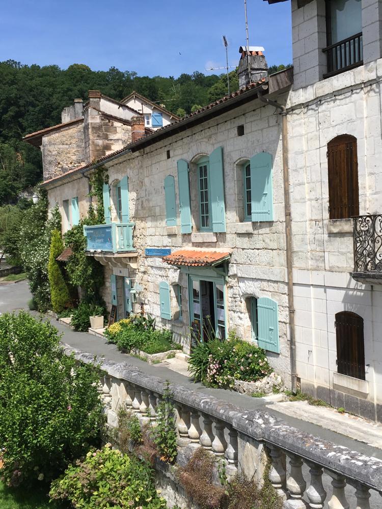 Kleurrijk huis in Dordogne