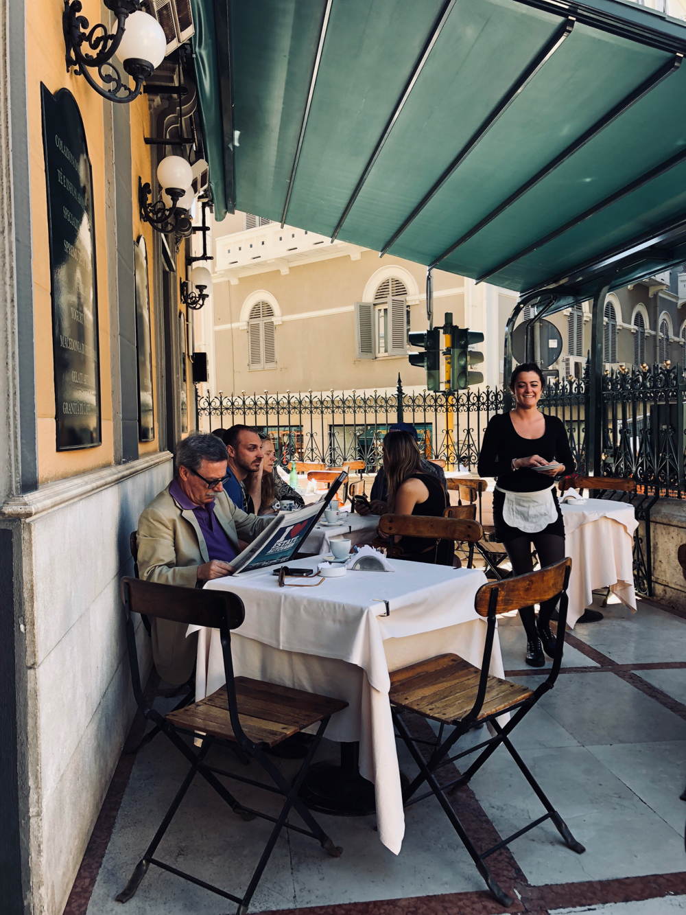 Het beroemde Antico Cafe