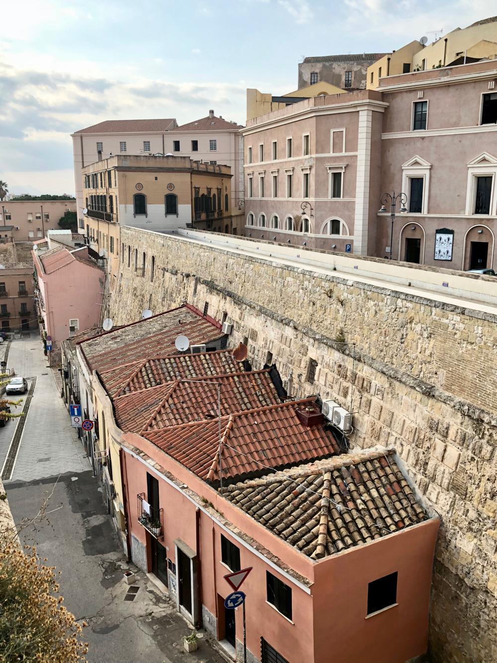 Cagliari oude binnenstad