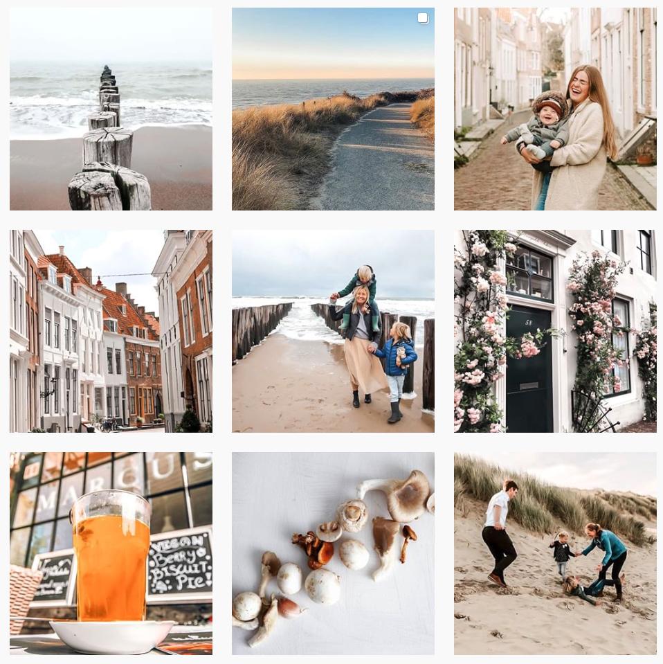 Instagram feed van reisgids Hello Zeeland