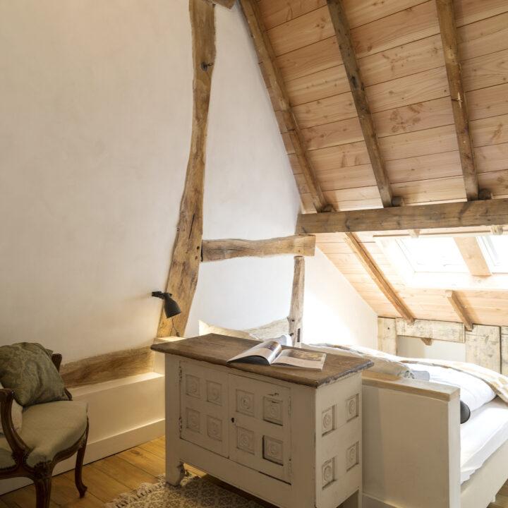 Slaapkamer in de hoeve