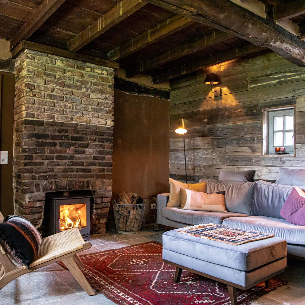 Een bijzonder vakantiehuis waar je optioneel de sauna kunt reserveren.