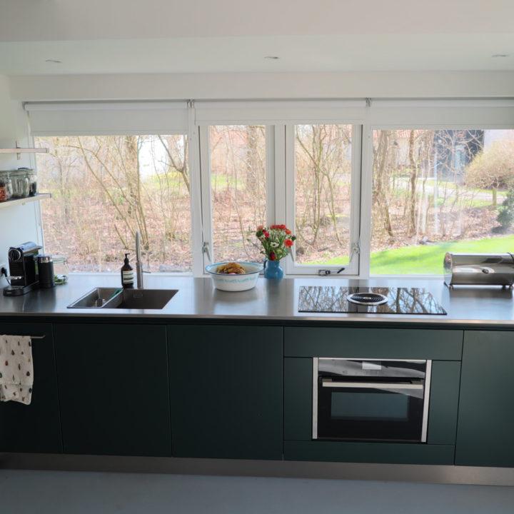 Moderne keuken in het vakantiehuis