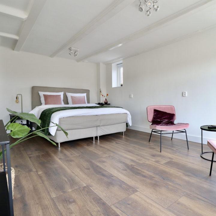 Slaapverdieping voor een romantisch weekendje weg