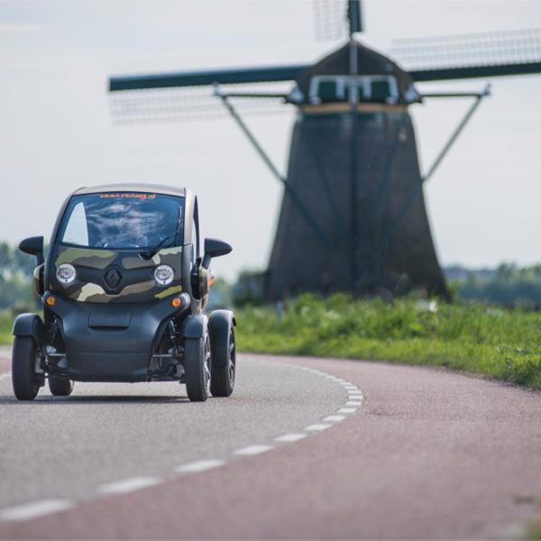 Elektrisch touren met een stoere Renault Twizy