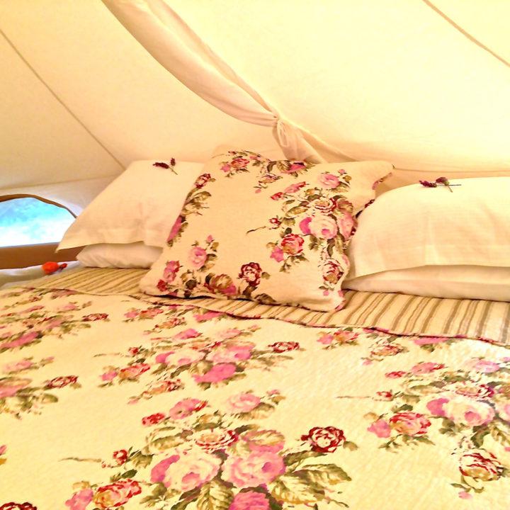 Lekker slapen in je eigen luxe tent.