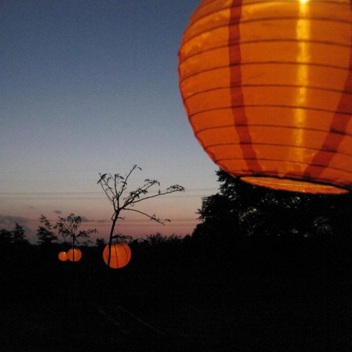 Sfeerverlichting in de vorm van lampions