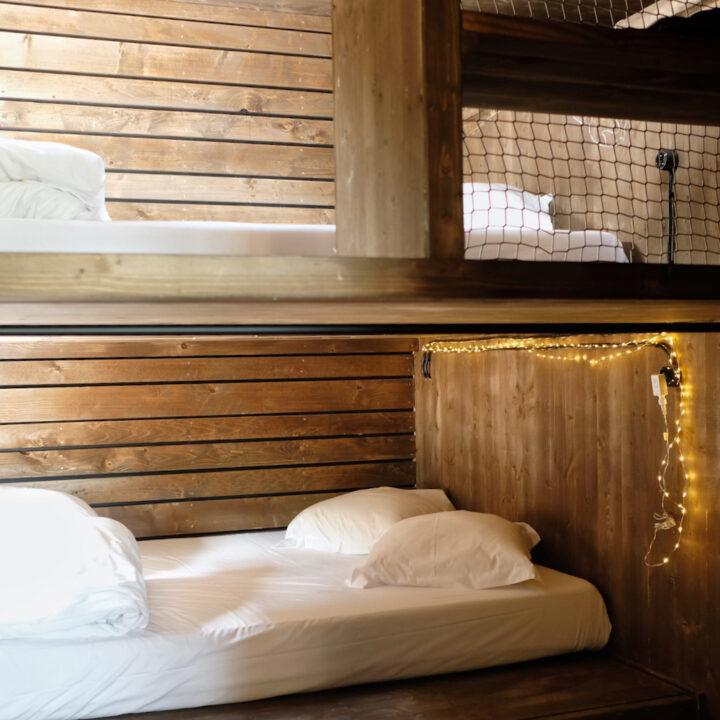 Bijzonder overnachten in een cabin in de bossen in de Ardennen