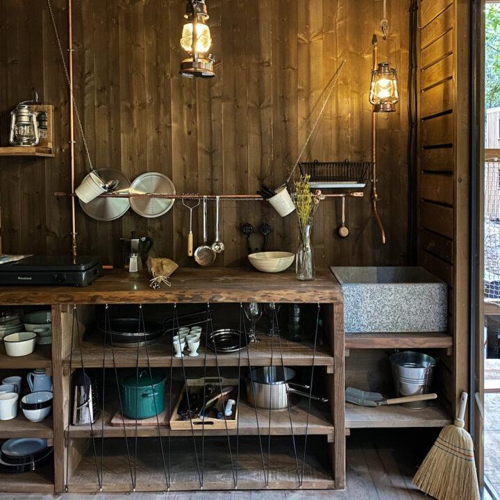 Basic cabin in de bossen in de Ardennen