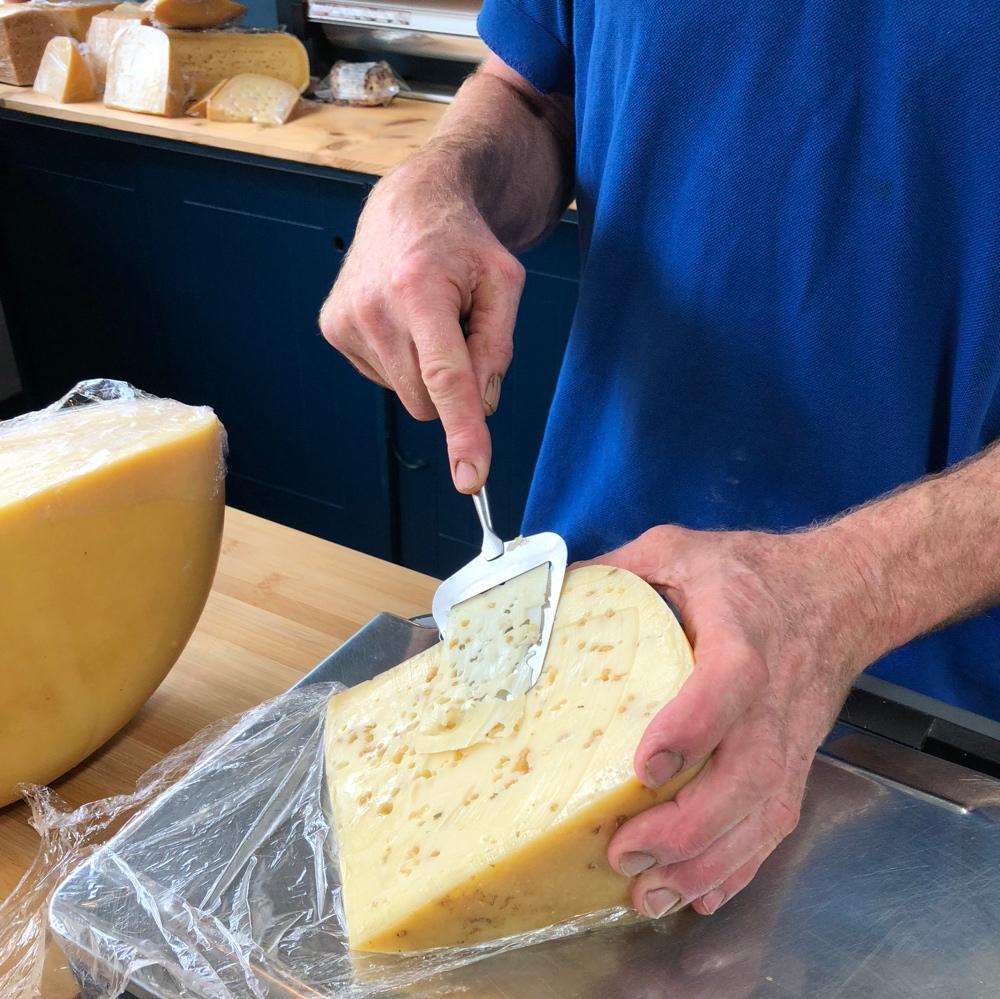 Kaas snijden