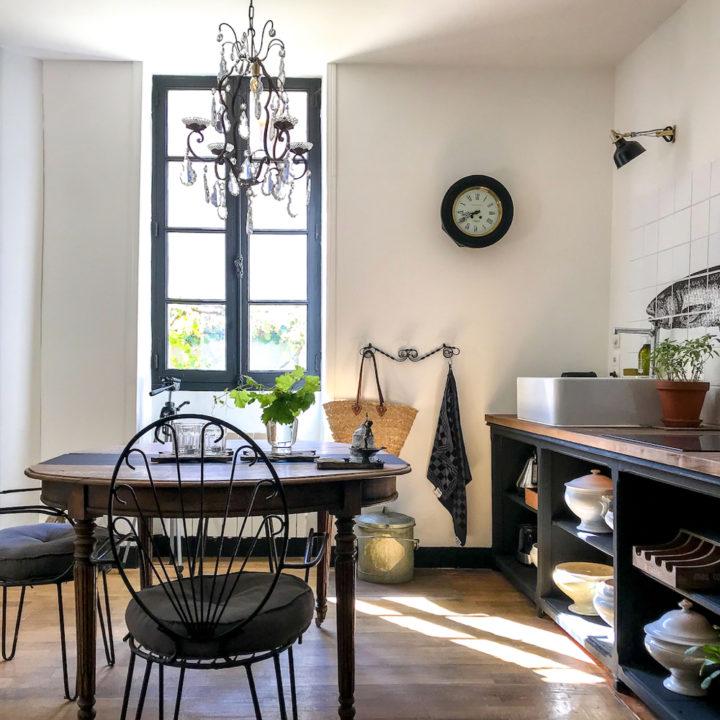 Keuken van Frans vakantiehuis