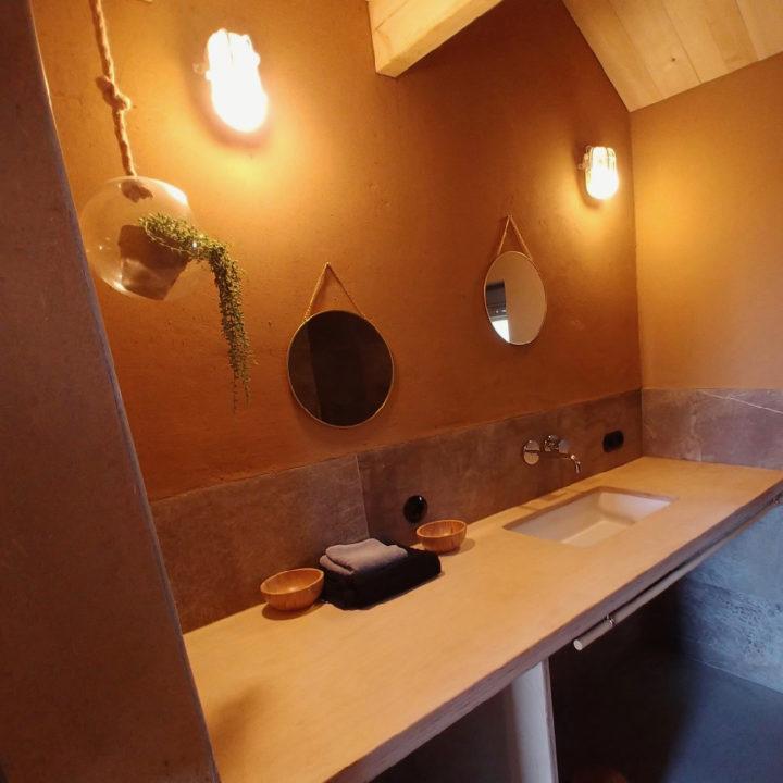 Badkamer in het huis van Jo Daggert
