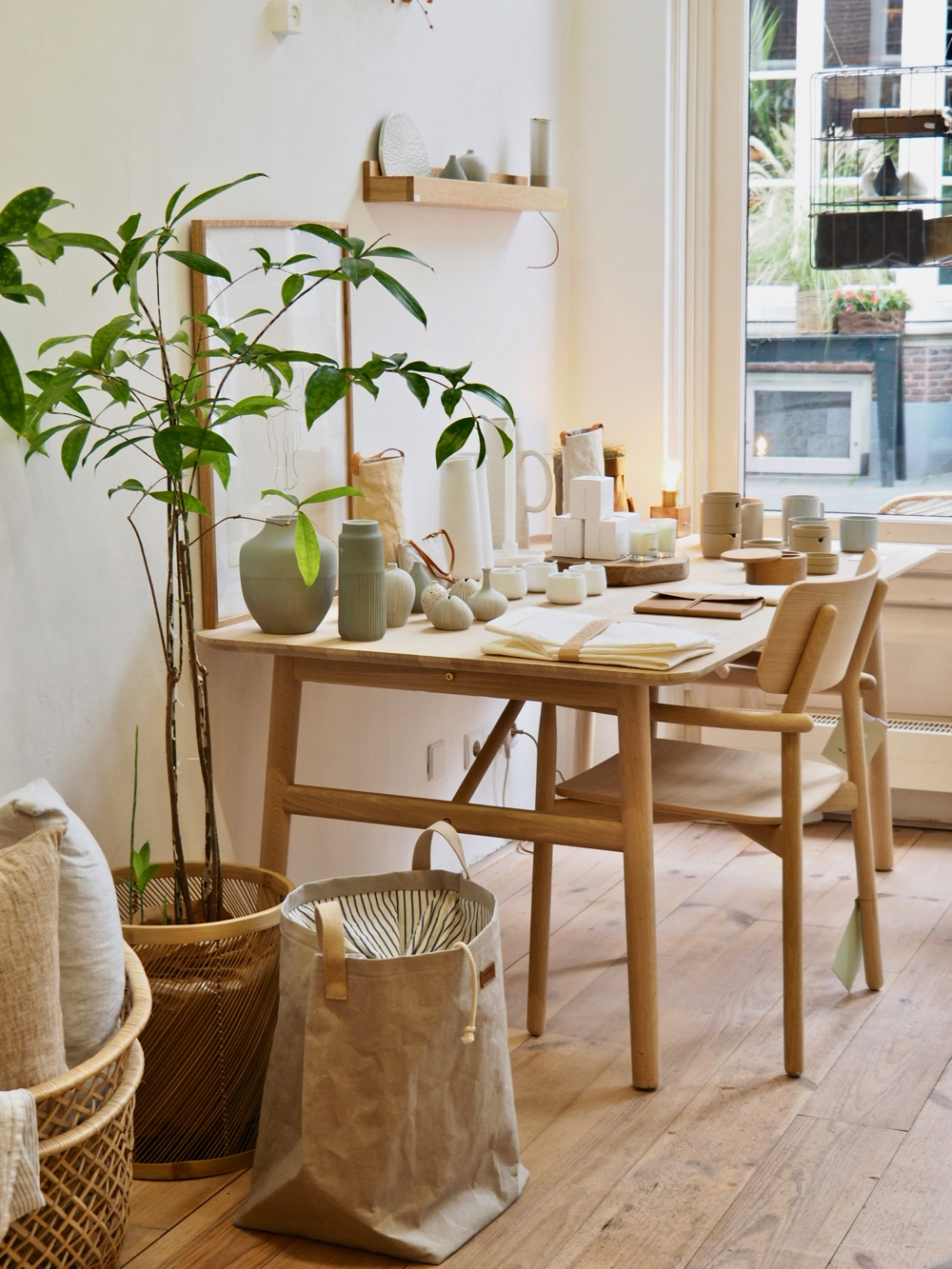 Een Scandinavisch interieur bij woonwinkel Stilleven in Zutphen