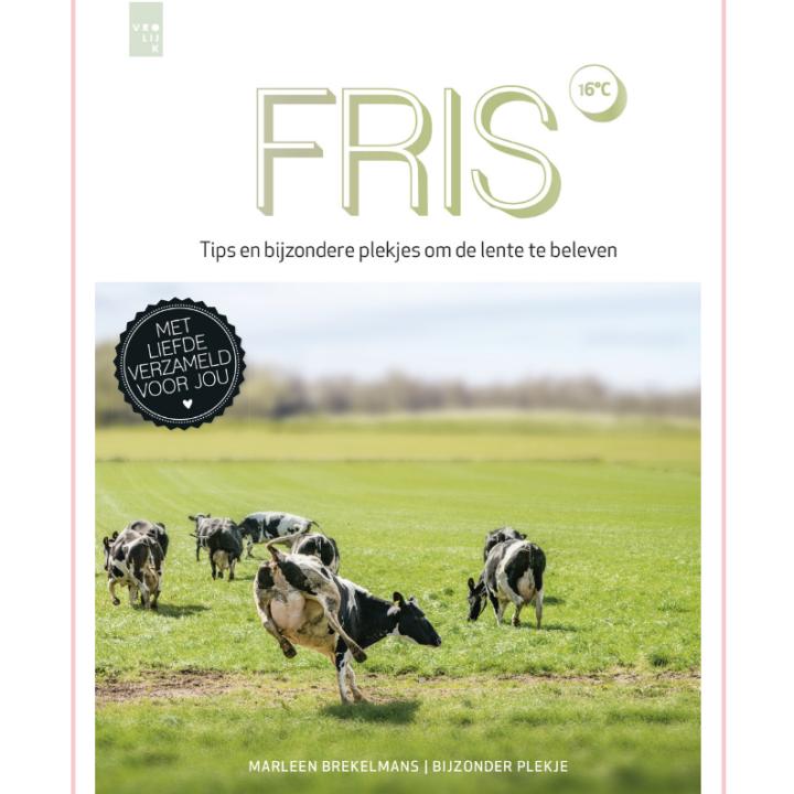 Cover van boek Fris met dansende koeien in de wei