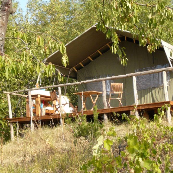 Safaritent bij Casa Bonta met veranda