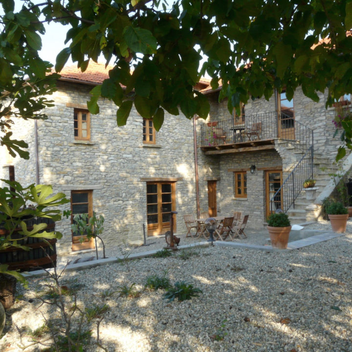 Traditioneel Italiaans landhuis