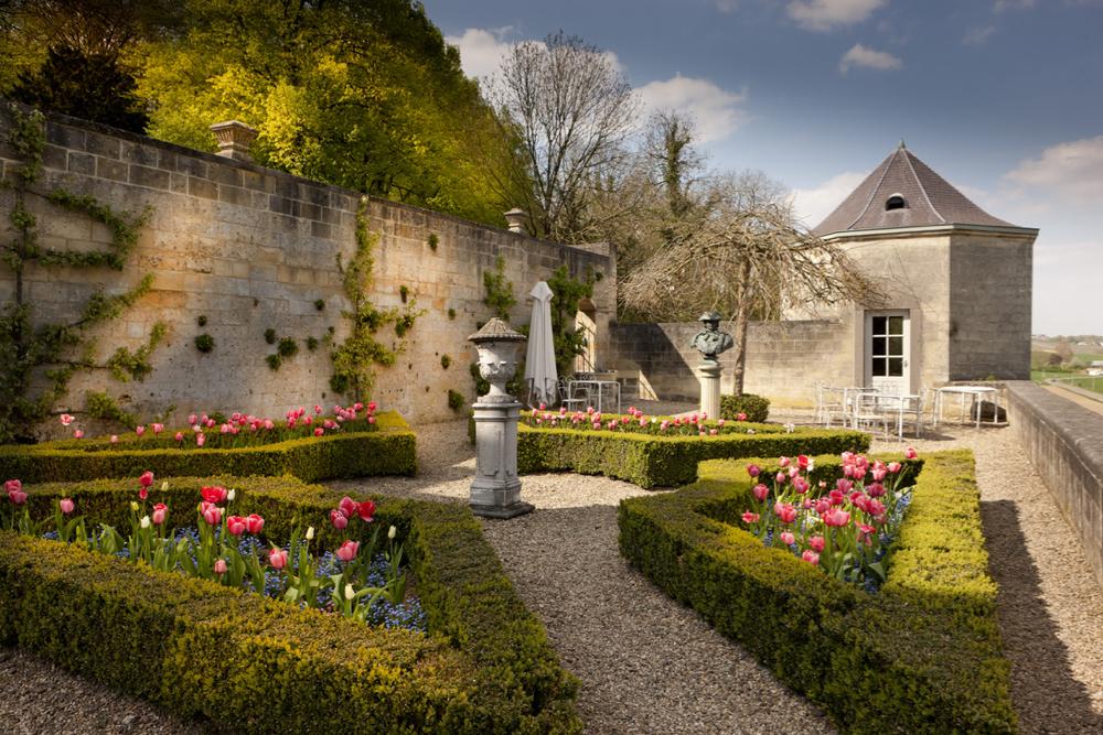 Kasteeltuin van Chateau Neercanne