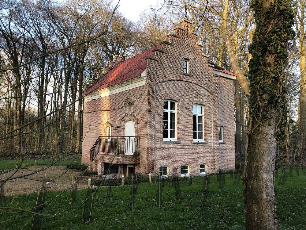 Historisch vakantiehuis met trapgevel