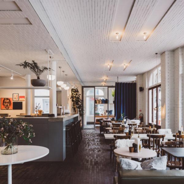 De foodbar van hotel Pilar in Antwerpen