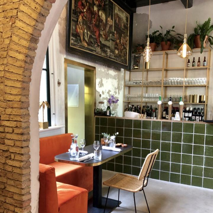 Bar van het restaurant
