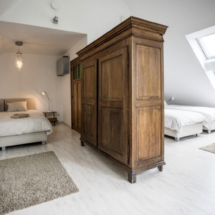 4-persoons slaapkamer in een vakantiehuis