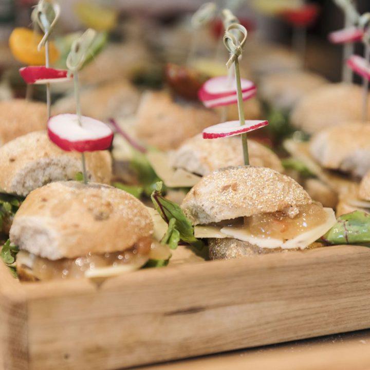 Verse broodjes als lunch in de Landgoedkeuken Utrecht