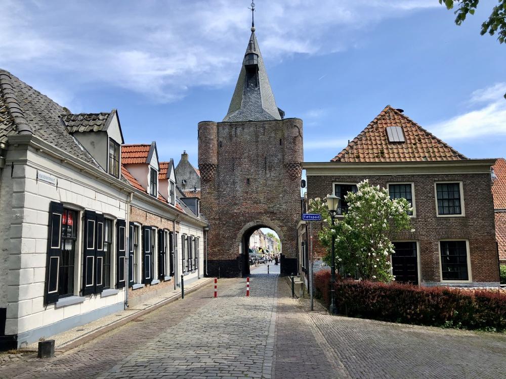 Stadspoort in Elburg
