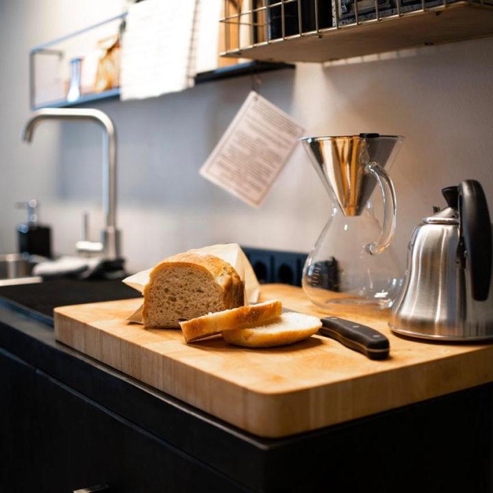 Vers brood voor bij het ontbijt