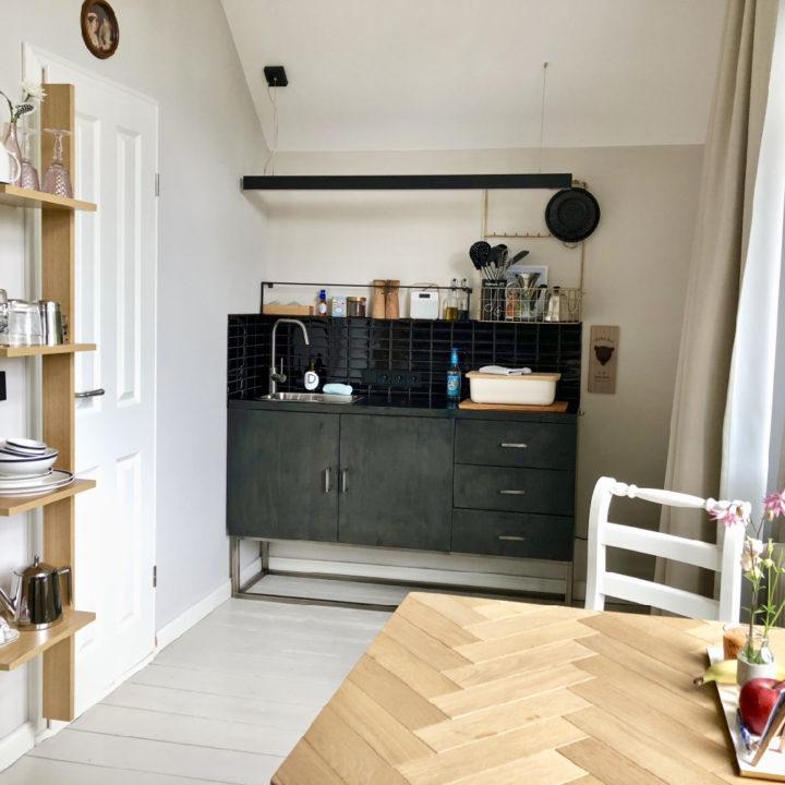 Design appartement voor gasten