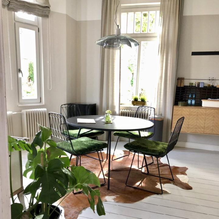 Design eethoek van een appartement, een fijne plek voor een vakantie